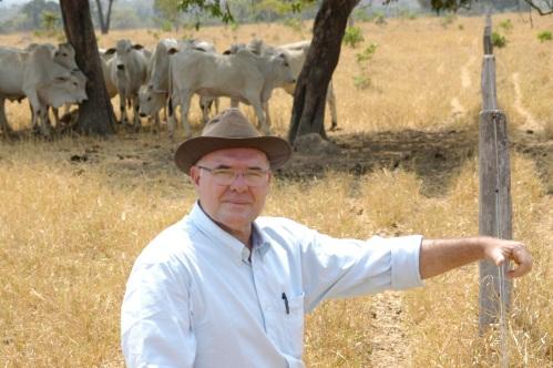 Cavalcanti maneja os animais com visão de longo prazo para evitar estresse