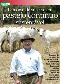 Um caso de sucesso em pastejo continuo sustentável